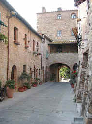 Town gate of San Donato